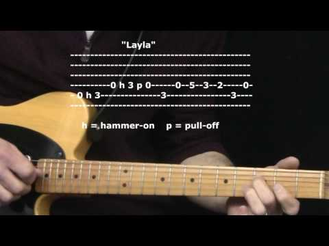 """""""Layla"""" by Eric Clapton : 365 Riffs For Beginning Guitar !!"""