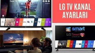 LG televizyon Kanal sıralaması değiştirme,
