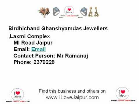 Birdhichand Ghanshyamdas Jewellers_ILoveJaipur_Jaipur, Rajasthan, India - Jewellers