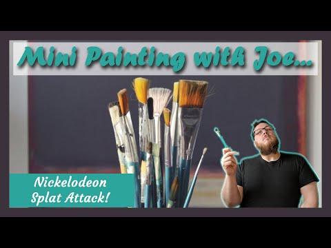 Mini Painting | Nickelodeon Splat Attack | Part 5: Team Aaahh!!! Real Monsters | Miniature Painting