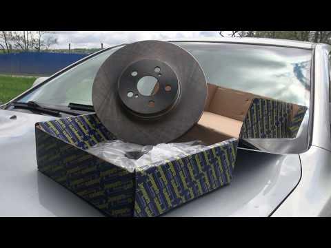 Как поменять тормозные диски и колодки