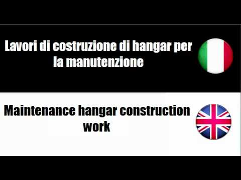 Italiano + Inglese = Construction work for social services buildings