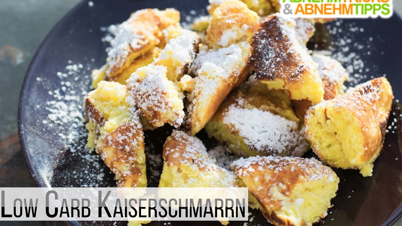 Fluffiges Low Carb Kaiserschmarrn Rezept Youtube