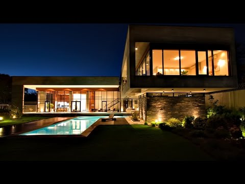 Impressive Contemporary Ultra-modern Luxury Villa in Mohammadshahr, Iran