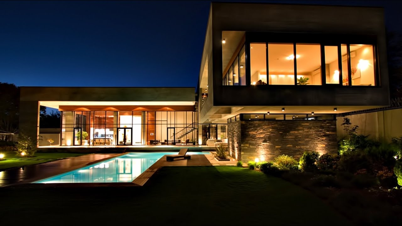 Impressive contemporary ultra modern luxury villa in - What is a contemporary home ...