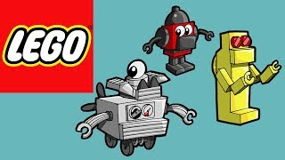 How to Build Lego Robots | Bricks and Clay Play