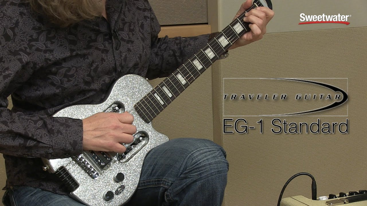 traveler guitar eg 1 standard sweetwater exclusive guitar review by sweetwater youtube. Black Bedroom Furniture Sets. Home Design Ideas