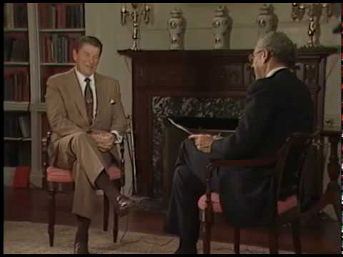 President Reagan's Interview with Paul Duke of WETA on July 16, 1982