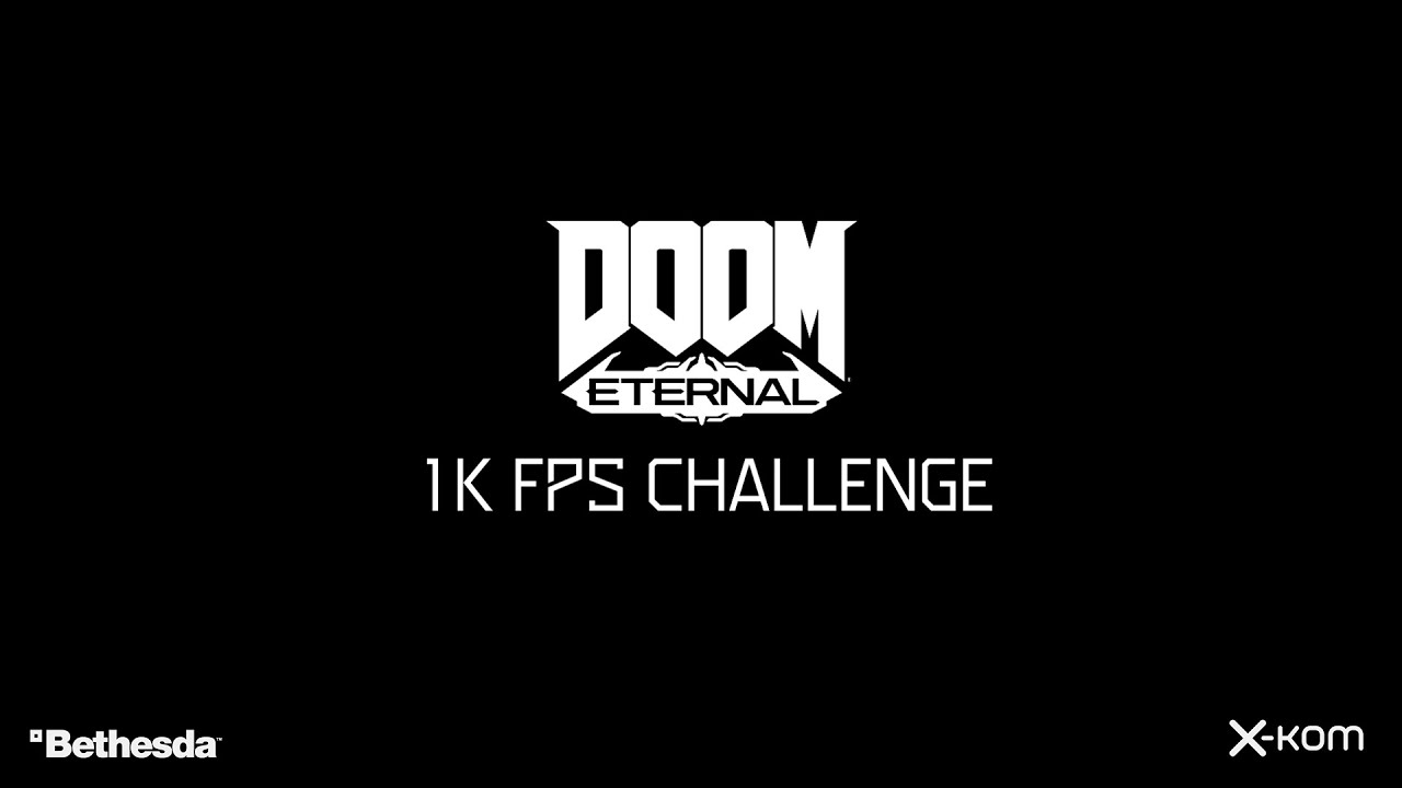 Here S Doom Eternal Running At 1 000fps With An Intel Core I7 9700k Pcgamesn