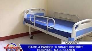 PTV TELEDYARYO YLOCOS BARO A PASDEK TI SINAIT DISTRICT HOSPITAL  NALUKTANEN