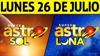 Resultado de ASTRO SOL y ASTRO LUNA del Lunes 26 de Julio de 2021   SUPER ASTRO 😱💰🚨