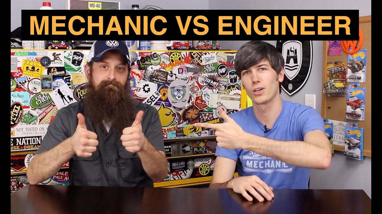 Mechanic Vs Engineer 5 Things You Need To Know Youtube