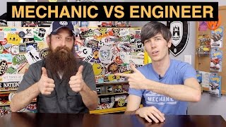 Mechanic vs Engineer - 5 Things You Need To Know(Should I be a mechanic or an engineer? What's the difference between an engineer and a mechanic? Is it better to be a mechanical engineer or a technician? 1., 2016-02-05T15:00:03.000Z)