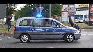 [STADTPOLIZEI IM BLAULICHT-RAUSCH] 3x Streifenwagen Stadtpolizei Wiesbaden