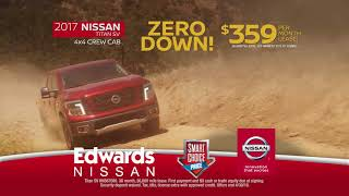Edwards Nissan - 2017 Titan - Zero Down!