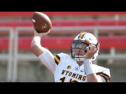 Wyoming QB Hits Teammate Sitting On Bench With Errant Throw | CampusInsiders