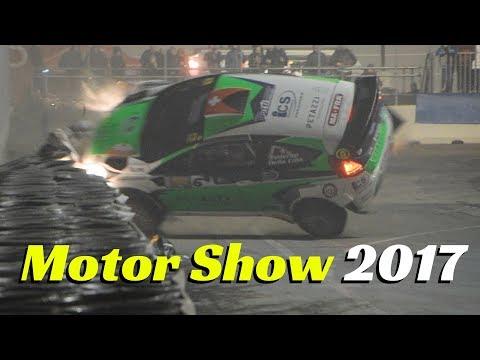 CRASH, WRC & R5 Rally Car + Proto - Motor Show Bologna 2017 - Highlights Day 8