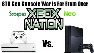 4K Xbox Scorpio Vs 1080p PS4 Neo: 8th Gen Console Wars Have Only Just Begun