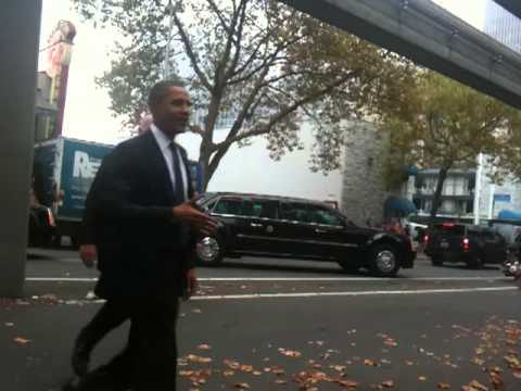 President Obama Visits Seattle's Top Pot Donuts