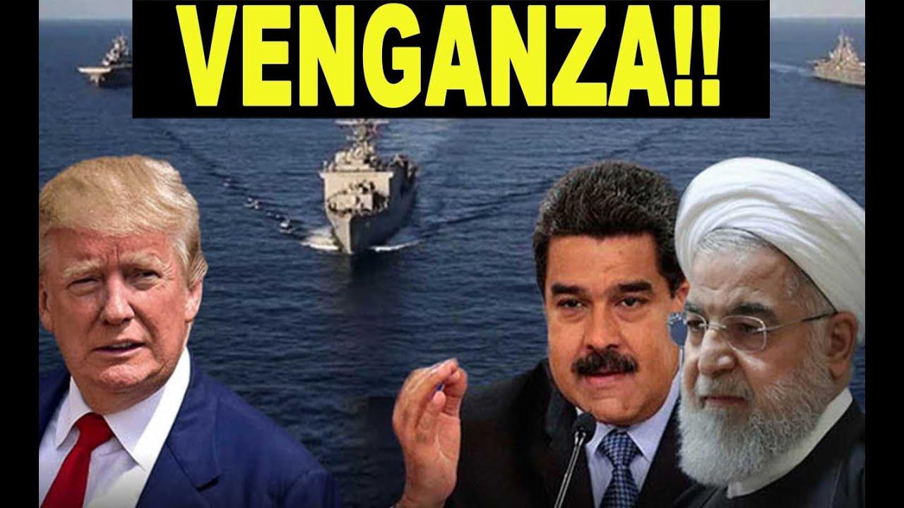 Ultimo momento!! Helicóptero Irán estrecho Ormuz MADURO EE.UU. Buque cisterna… (Venezuela)