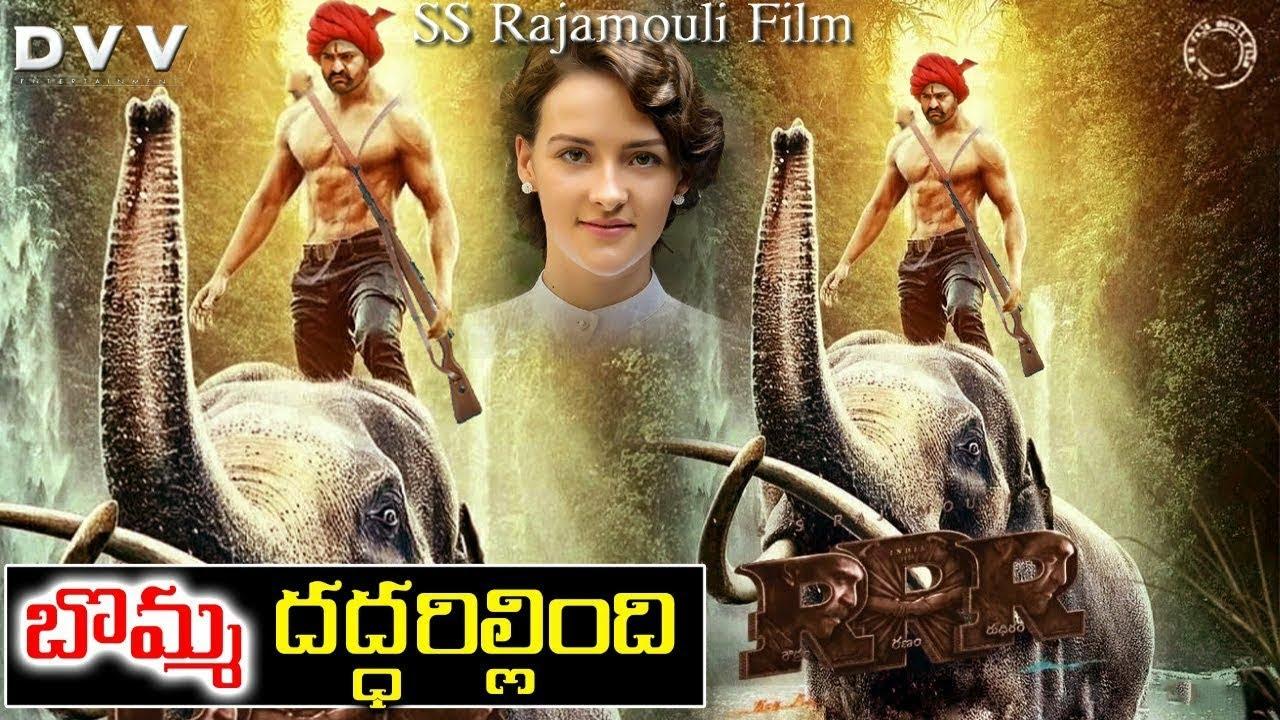 RRR Movie KomaramBheem Fight Scene   Rajamouli   NTR   RamCharan   With U