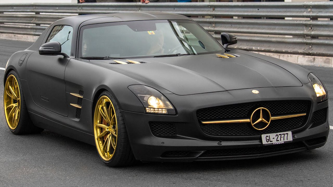 mercedes benz sls amg w adv1 wheels driving and sound 2016 hq youtube