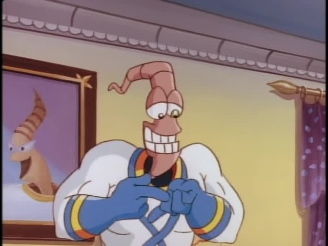 Earthworm Jim S02E10 For Whom the Jingle Bell Tolls