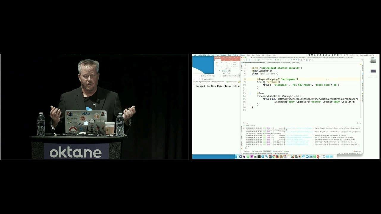 Oktane18 API and Microservices Best Practice | Okta