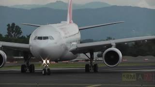 Iberia A332 Arribo y despegue / Costa Rica