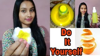 DIY Orange Toner For extremely Dry Skin | Makes your skin healtheir & glowing | indian Girl Chumki