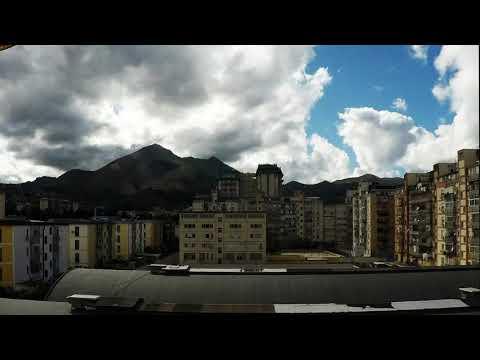 Palermo giorno 20 time lapse quarantena corona virus