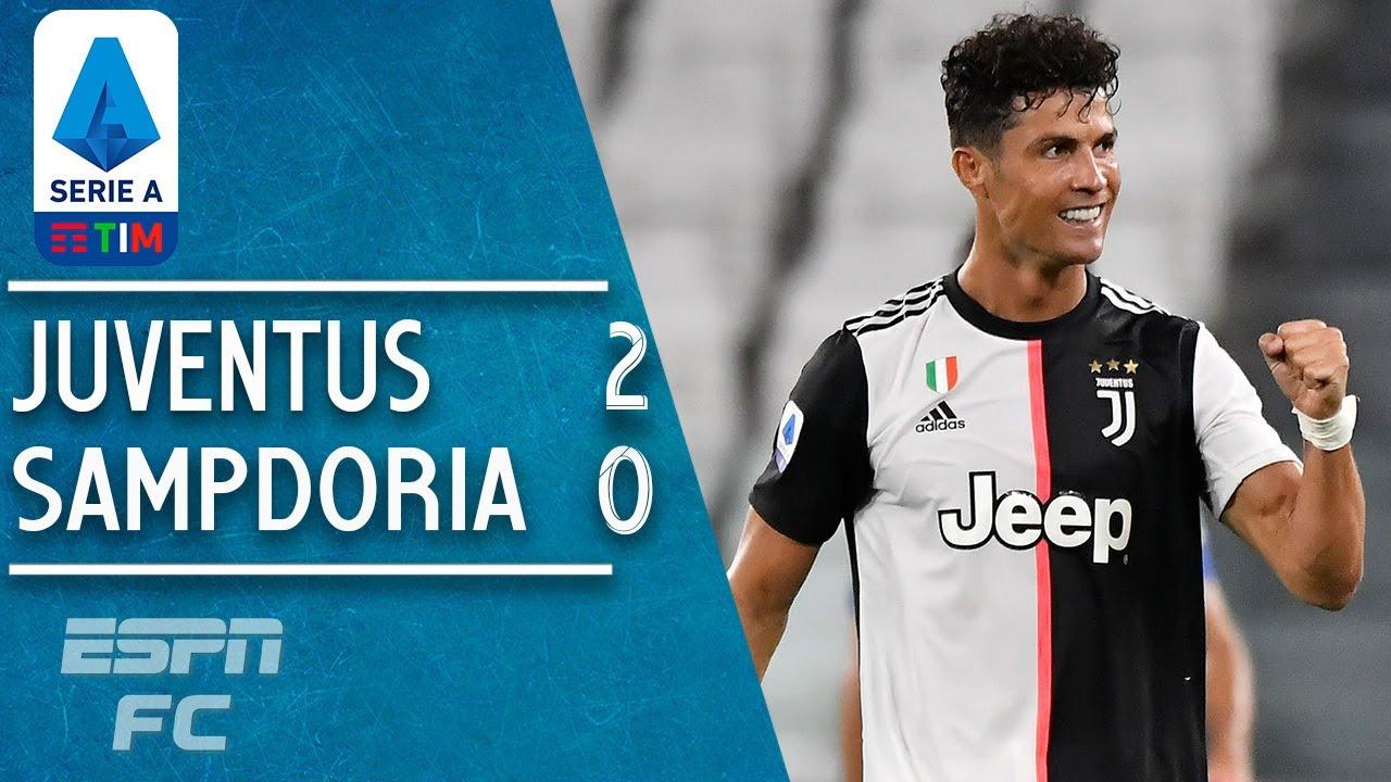 Ronaldo scores again as Juventus seals 9th straight title