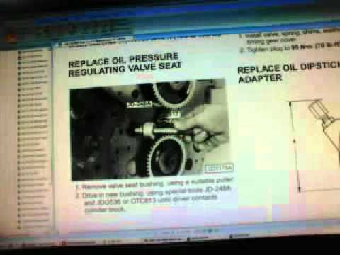 John Deere Alternator Wiring Diagram How To Set A Table 240 250 Skid Steer Tech Manual Downloadable - Youtube