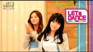 Let's Dance: Girl's Day(걸스데이)_Don't forget me(나를 잊지마요) [ENG SUB]