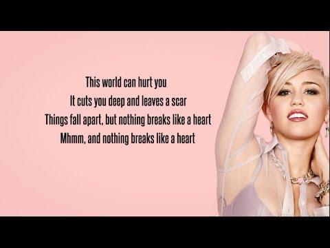 mark-ronson---nothing-breaks-like-a-heart-(lyrics)