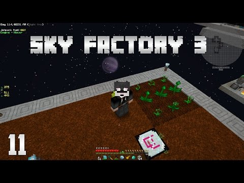 Sky Factory 3 EP11 Farming Automation - Mystical Agriculture