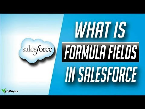 how to create formula fields in salesforce in salesforce - Salesforce Tutorial in hindi #7