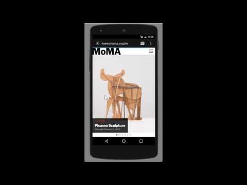 Modern Art UI Screencast
