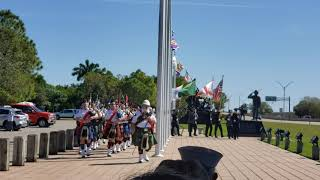 Guns and Hoses at Cape Coral's commemoration of the 75th anniversary of flag raising on Iwo Jima