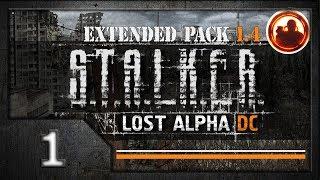 СТАЛКЕР Lost Alpha DC Extended pack 1.4 Прохождение. 01 Связные.