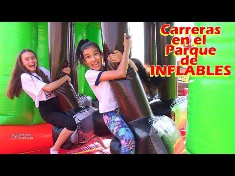 CaRReRaS en el PARQUE DE INFLABLES ms GRANDE | TV Ana Emilia