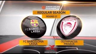 Highlights: FC Barcelona Lassa-Olympiacos Piraeus