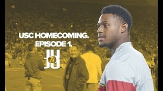 JuJu Smith-Schuster Goes to USC Homecoming  JuJu TV - Episode 1