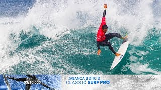 Power turns and massive airs, ABANCA Galicia Classic Surf Pro Highlights