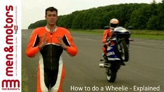 How to do a Wheelie - Explained