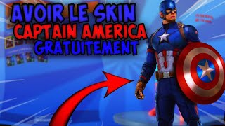 """HOW TO HAVE THE SKIN """"CAPTAIN AMERICA"""" ON FORTNITE! [TUTO]"""