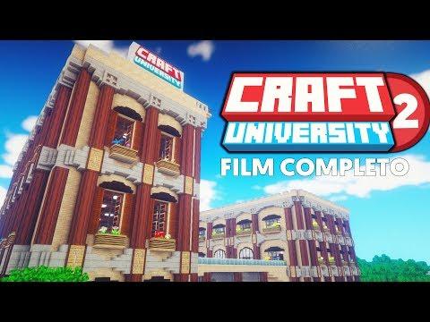 CraftUniversity 2 [FILM COMPLETO] - Minecraft ITA Roleplay