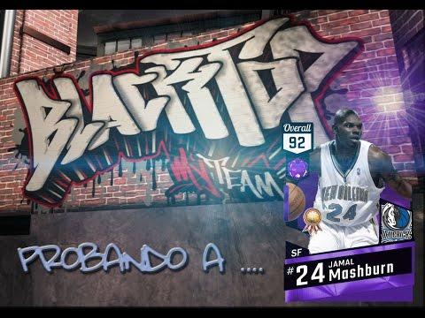 NBA2K17 // PROBANDO A ... JAMAL MASHBURN 92