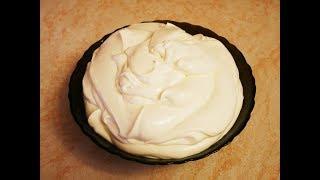 Рецепт СМЕТАННОГО крема Как сделать сметанный крем из МАГАЗИННОЙ сметаны Рецепт крема